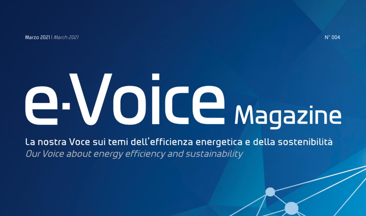 e-voice su illuminazione led professionale