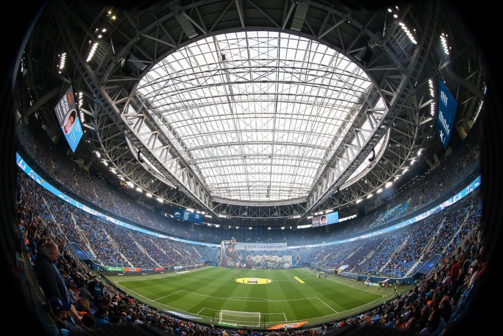 gazprom arena Gazprom Arena ILLUMINAZIONE SPORTIVA A LED