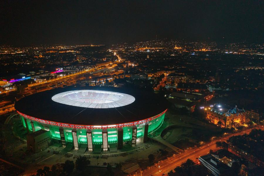 puskas arena illuminazione sportiva a led