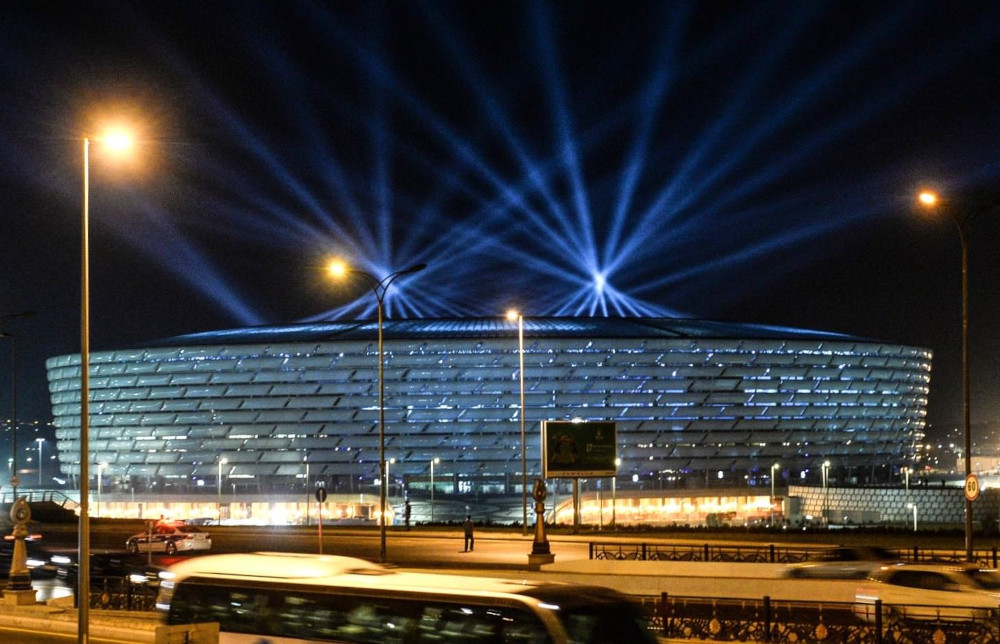 baku stadio ILLUMINAZIONE SPORTIVA A LED