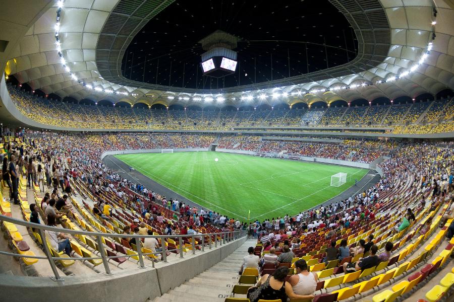 bucarest arena ILLUMINAZIONE SPORTIVA A LED per stadio da calcio