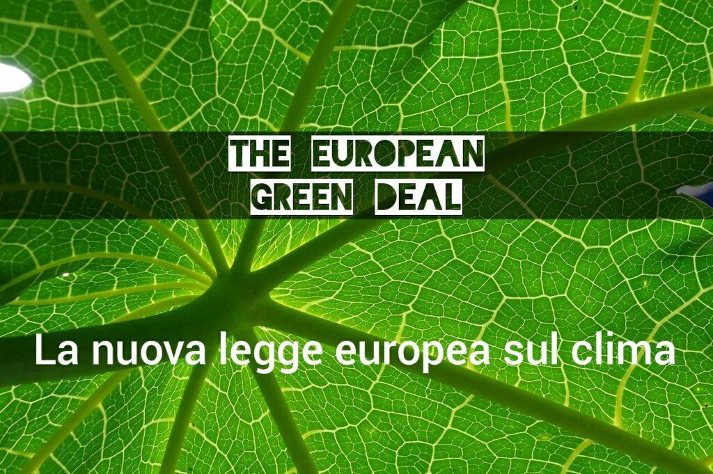 efficientamento energetico obbligatorio green deal