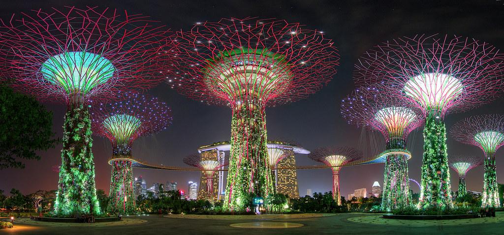 led retrofit e green building a singapore